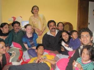 Familie - der Mittelpunkt des Lebens in Indien.